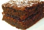 diétás csokis, szilvás süti