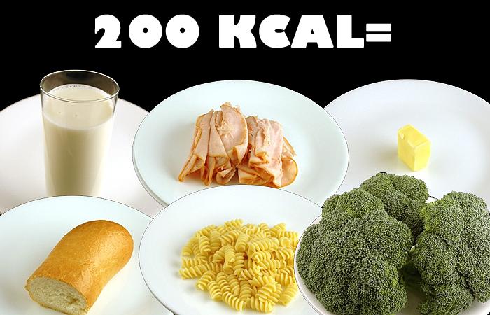 Mennyi 200 kalória? Népszerű ételeink 200 kalóriában..