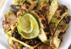 fűszeres, diétás csirkemell étel