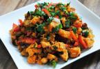 édesburgonya saláta, egy diétás recept