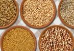 egészséges gabonafélék
