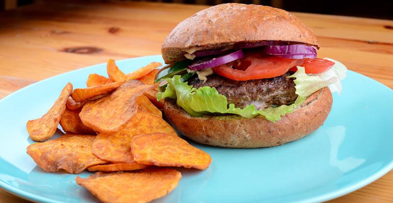 Clean diétás hamburger recept