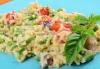 Vegan kölesrizottó diétás recept