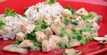 Kókusztejes csirkés diétás recept
