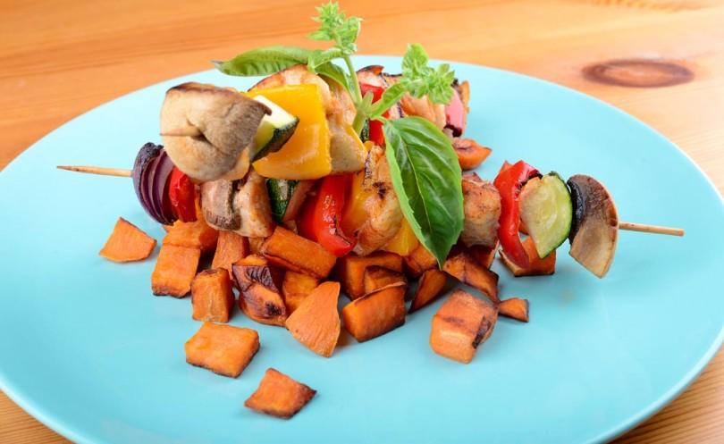 csirkenyárs és édesburgonya diétás recept