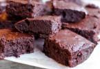 célkás brownie, diétás és gluténmentes
