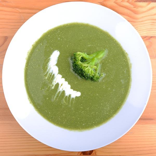 diétás brokkoli krémleves