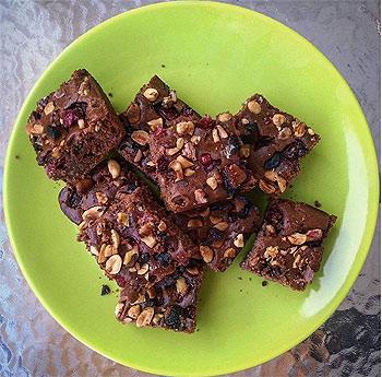 diétás protein brownie