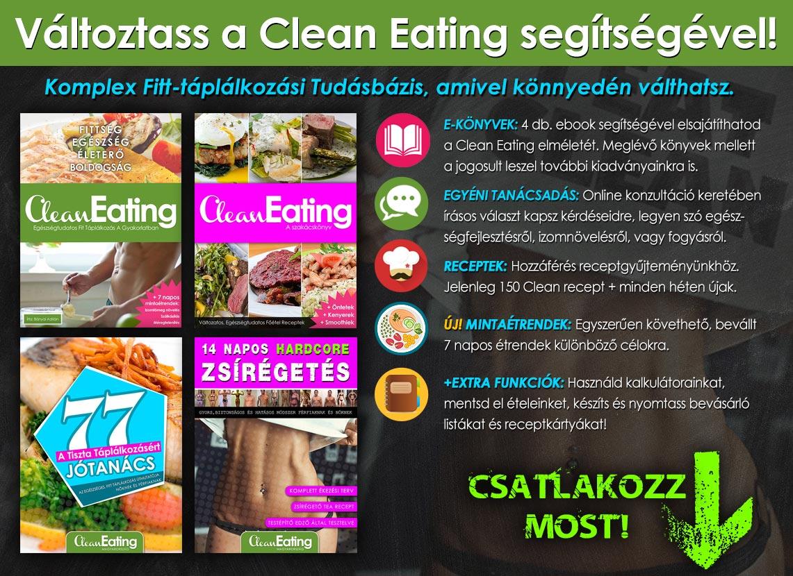 Clean Eating életmódprogram
