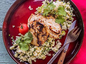 karfiol rizs, csirkével