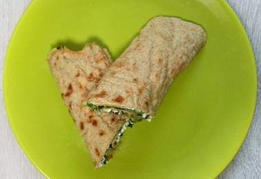 házi tortilla wrap recept