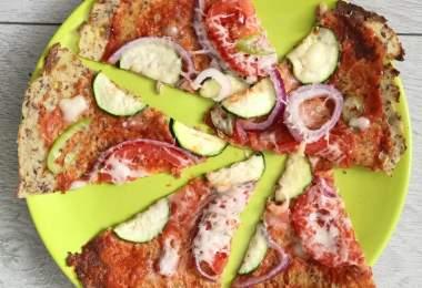 Igazán diétás vegan pizzatészta