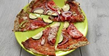 vegan pizzatészta karfiolból