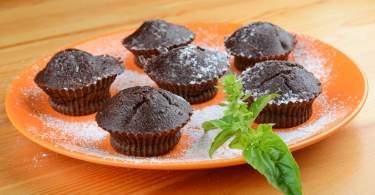 glutén- és laktózmentes csokimuffin