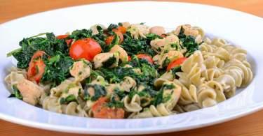 Diétás és olaszos recept spenót és csirkemellből