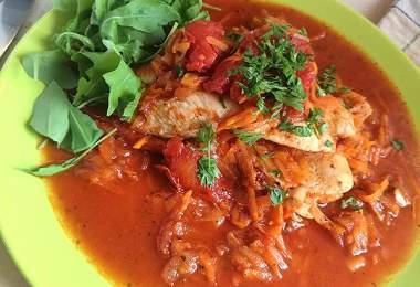 olaszos recept csirkemellel és zöldségekkel