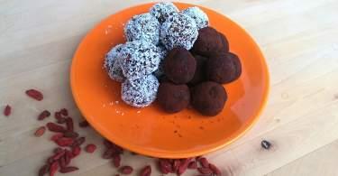 Fitt kókuszgolyó és trüffelgolyó recept