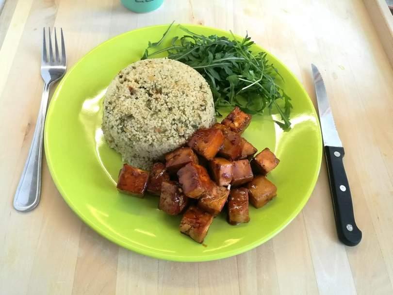 Tofu és kuszkusz