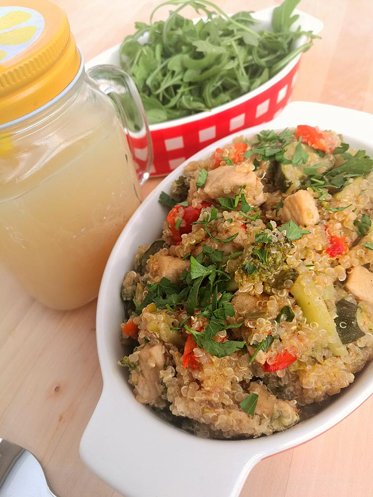 quinoa receptünk
