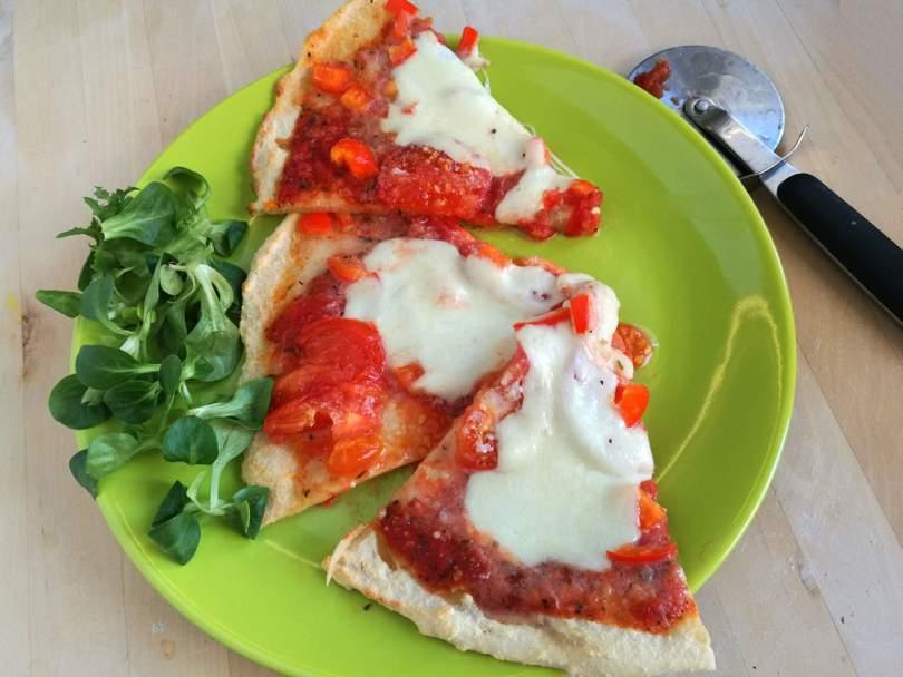 gluténmentes vékony pizzatészta recept