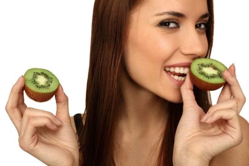 Az egészséges kivi gyümölcs fogyasztása