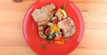 sertéskaraj diétás recept