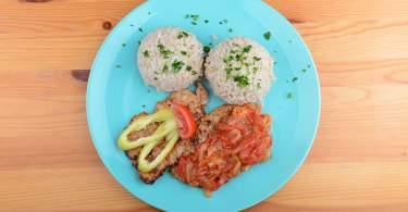Lecsós szelet diétás sertés recept