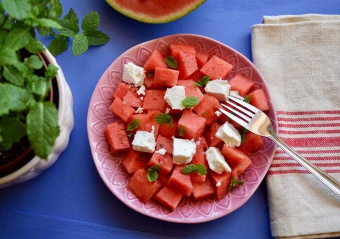 Görögdinnye-saláta