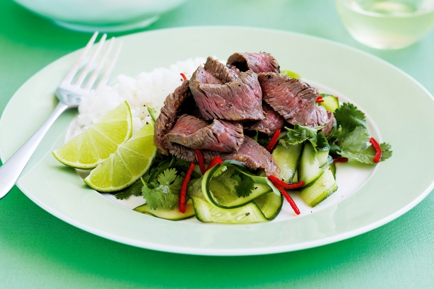 marhahús salátával