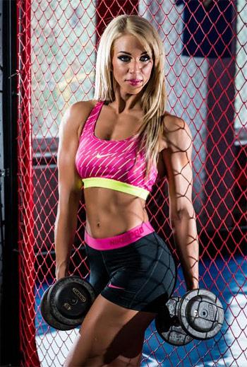Békefi Brigi ifbb fitness model versenyző diétája