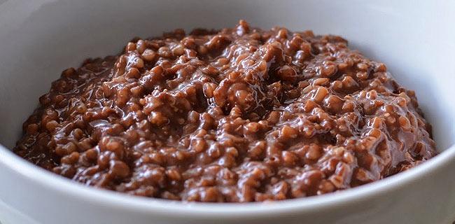Csokis mogyoróvajas zabkása recept