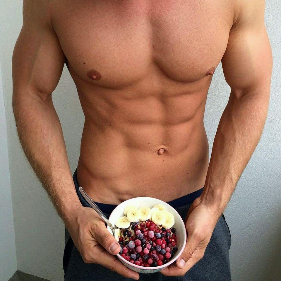Zsírégető táplálkozássak a kockás hasért