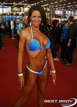 Horvath Frida ifbb fitness model